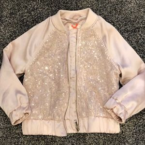 Toddler H&M Sequin Bomber Jacket